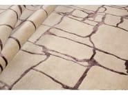 Handmade rectangular rug COLOMBO PURPLE - EDITION BOUGAINVILLE