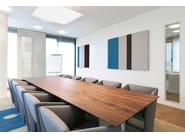 Fabric-based acoustic panels for walls COLORS FIELDS | Decorative acoustical panels - Acousticpearls