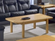 Rectangular wooden coffee table COMMODORE | Coffee table - Dyrlund