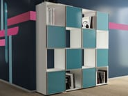 Open Modular office shelving COMPACT CUBO - Arcadia Componibili - Gruppo Penta