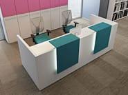 Banco per reception modulare COMPACT C18APL - Arcadia Componibili - Gruppo Penta