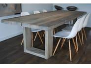 Rectangular oak dining table COMPLICE - CABUY D.