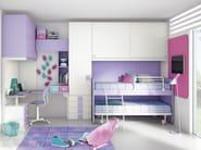 Bedroom set with bridge wardrobe COMPOSITION 20 - Mottes Mobili