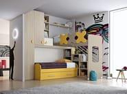 Loft bedroom set COMPOSITION 25 - Mottes Mobili