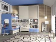 Loft bedroom set COMPOSITION 26 - Mottes Mobili