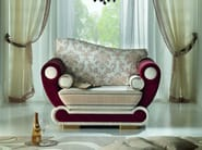 Fabric armchair with armrests CONTEMPORARY | Armchair with armrests - Modenese Gastone group