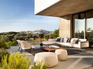 Garden armchair with armrests CTR | Easy chair - TRIBÙ