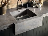 Single flush-mounted Corian® sink Corian® SPARKLING - DuPont de Nemours Italiana - DuPont ProtectionSolutions