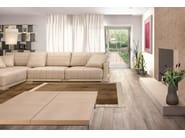Corner sectional leather sofa with chaise longue BOOST | Corner sofa - Tonino Lamborghini Casa by Formitalia Group