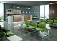 Polypropylene beam seating COVE | Beam seating - Quadrifoglio Sistemi d'Arredo
