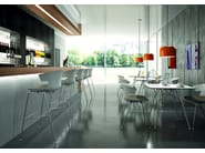 Counter stool with footrest COVE | Counter stool - Quadrifoglio Sistemi d'Arredo