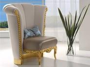 Upholstered fabric armchair CP179 | Armchair - Rozzoni Mobili d'Arte
