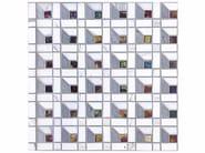 Mosaico in marmo e vetro BOITE - CONTEMPORARY BOX - CUBE 15 GLASS - Lithos Mosaico Italia - Lithos
