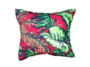 Rectangular outdoor fabric cushion Foliage backrest cushion - Tectona