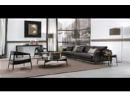 Sectional upholstered leather sofa DAVIS CLASS | Leather sofa - FRIGERIO POLTRONE E DIVANI