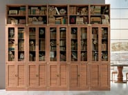 Sectional solid wood bookcase DAY | Sectional bookcase - Caroti