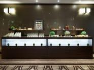 Decorated glass wall tiles DECORFLOU® DESIGN FUZ - OmniDecor®