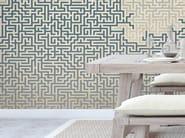 Motif non-woven paper wallpaper DEDALE - LGD01