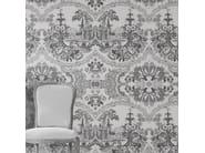 Motif wallpaper DELFT BAROQUE WALLPAPER - BLACK - Mineheart
