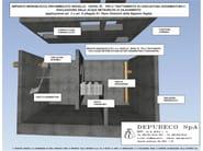 Disoleatori/dissabbiatori prefabbricati a pacchi coalescenti DEPOIL PC 100A/200A - DEPURECO