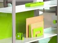 PERFO accessories  on an ARNAGE shelving-unit