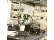 Fitted wood kitchen DHIALMA - COMPOSITION 01 - Marchi Cucine