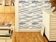 Geometric non-woven paper wallpaper DIAGONAL #04 - EXTRATAPETE