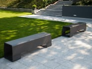 Cement garden bench DIE BANK - SWISSPEARL Italia