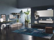 Laminate bathroom cabinet / vanity unit DIECI - Composizione 2 - INDA®