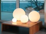 Halogen blown glass table lamp DIOSCURI | Table lamp - Artemide Italia