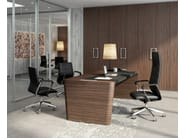 High-back executive chair DIRECTA | Executive chair - Quadrifoglio Sistemi d'Arredo