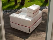 Armchair bed with removable cover DIVALETTO | Armchair - Milano Bedding