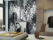 Washable panoramic non-woven paper wallpaper DL-TABULO - LGD01