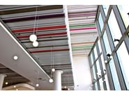 Steel ceiling tiles STAVES ATENA - ATENA