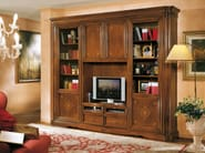 Solid wood TV wall system DOGI | Storage wall - Arvestyle