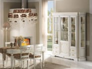Lacquered solid wood display cabinet DOGI | Lacquered display cabinet - Arvestyle