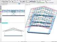 Finite element (FEM) structural resolver DOLMEN FULL - CDM DOLMEN