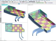 Structural calculation for pre-compressed reinforced concrete DOLMEN PIASTRE - CDM DOLMEN