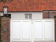 Powder coated aluminium floor lamp DOME GATE - ROYAL BOTANIA