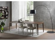 Tavolo allungabile rettangolare DOMINIQUE | Tavolo in legno impiallacciato - Pacini & Cappellini
