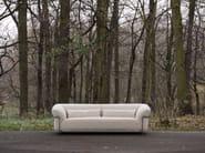 Upholstered 3 seater fabric sofa DORIS - SITS