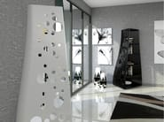 Freestanding Adamantx® bookcase DOTS - ZAD ITALY