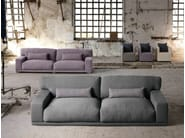 Sectional 3 seater fabric sofa DOYLE | 3 seater sofa - Domingo Salotti
