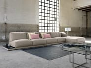 Fabric sofa with chaise longue DOYLE | Sofa with chaise longue - Domingo Salotti