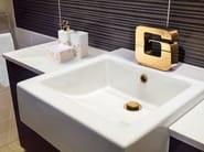 Miscelatore per lavabo monocomando in ottone con bocca orientabile DRAGON | Miscelatore per lavabo con bocca orientabile - JUSTIME