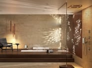 LED overhead shower for chromotherapy Dream 2 Sprays - RGB CROMOTHERAPY - Bossini