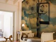 Panoramic landscape wallpaper DREAMLAND - Inkiostro Bianco