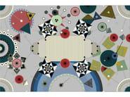Patterned rectangular fabric rug DREAMSTATIC - Moooi©