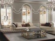 Corner tufted sectional leather sofa DUCCIO - Formitalia Group