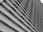 Aluminium sliding shutter with fixed louvers DUFIX 50OV SAFE | Sliding shutter - INDÚSTRIAS DURMI